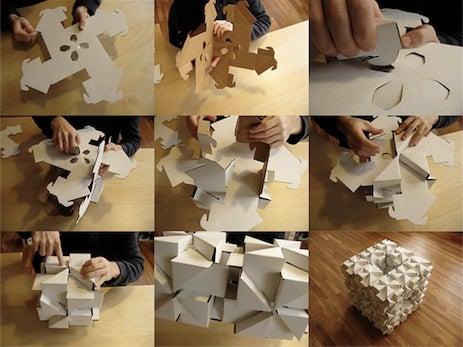 Bloxes Cardboard Modular Building Blocks