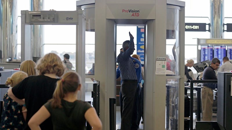 Maker of Full-Body Scanners Loses Its TSA Contract to Humiliate Passengers at Airport Security Checkpoints