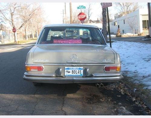 Mercedes-Benz W108 Down On The Denver Street