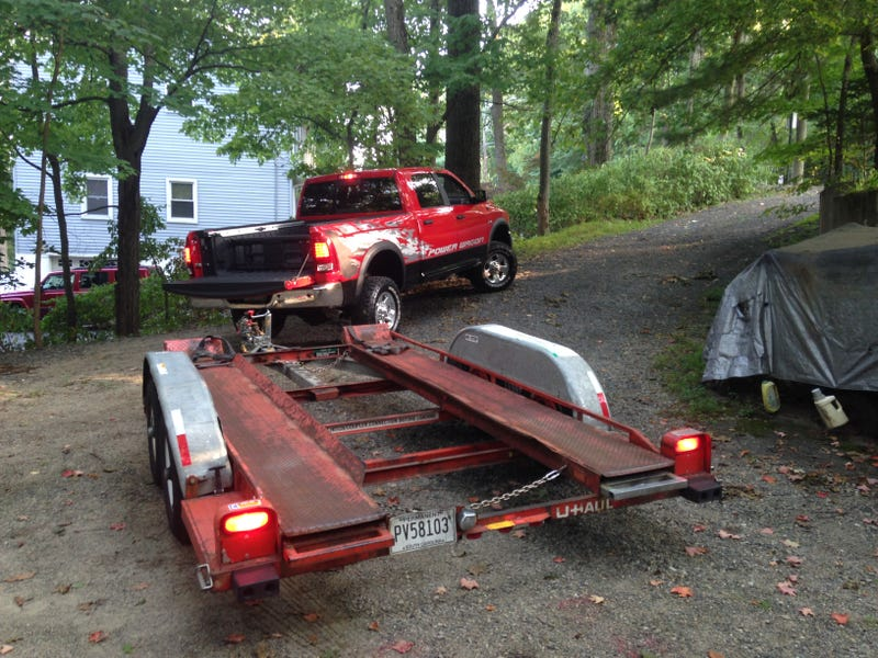 How To Tow A Project Car From An Impossible Place: The 7-Hour Saga