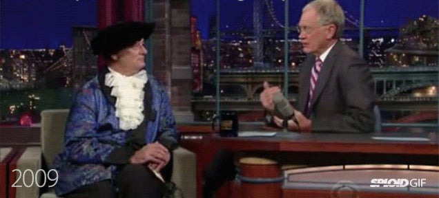 Bill Murray's hilarious costumes in Late Show with David Letterman