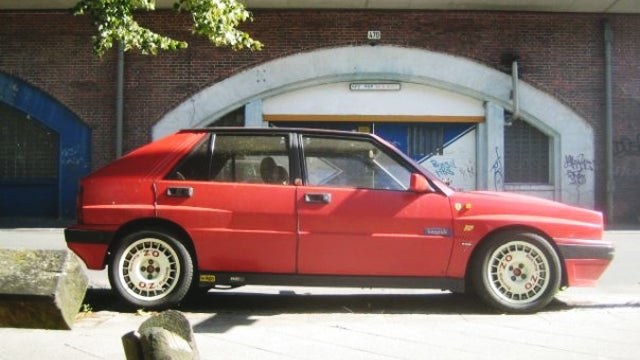 The Time I Found A Streetparked Lancia Delta Integrale