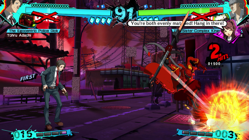 Persona 4 Arena Ultimax - Adachi Free for First Week in NA