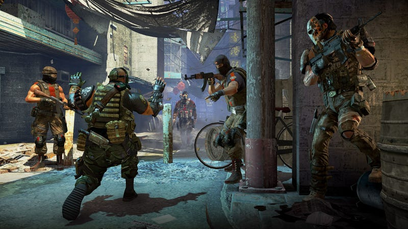 The Kid Stays In These Army of Two: The 40th Day Screens
