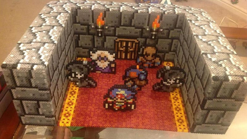 Final Fantasy IV's Most Touching Moment, Re-Created With Beads