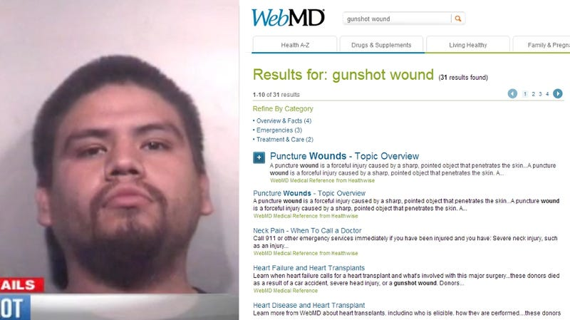 Mother Searches WebMD for Help After House Guest Shoots Her Son