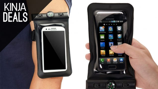 Keep Your Smartphone Safe with this $7 Waterproof Case
