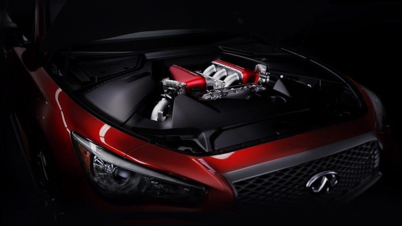 The Infiniti Q50 Eau Rouge Is The GT-R Sedan We've Always Wanted