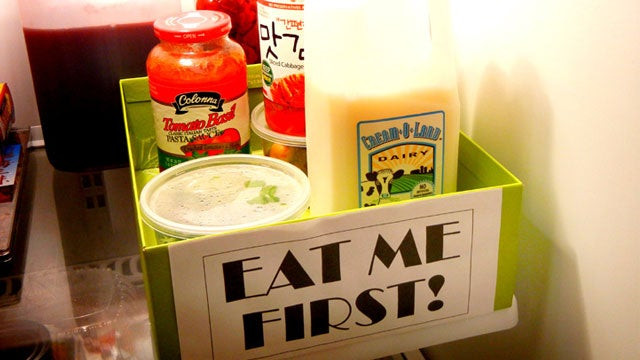 Create a Fridge Triage Box to Save a Ton of Wasted Food Every Month