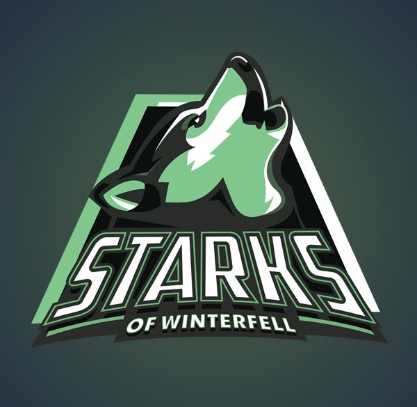 Root for your favorite house with these Game of Thrones sports logos