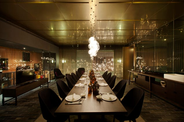 The Six Swankiest Bars and Restaurants Designed in 2013