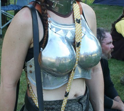 The Problem With Women's Armor, According to a Man Who Makes Armor [UPDATE]