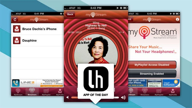 MyStream Lets You Share Your iPhone's Music Without Sharing Headphones