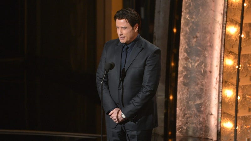 "​John Travolta Is ""Beating Himself Up"" Over Oscar Blunder"