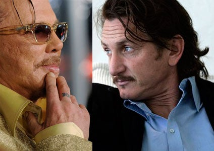 Mickey Rourke to Sean Penn: 'No, YOU'RE the Homophobe'