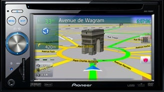 AVIC-F High-End Navigation Systems from Pioneer Rocks Voice Control