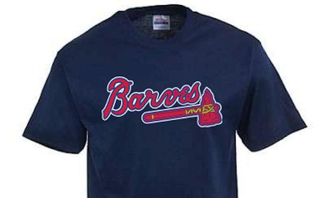 "Major League Baseball Swings And Misses Again, Shuts Down ""Atlanta Barves"" T-Shirt Operation"