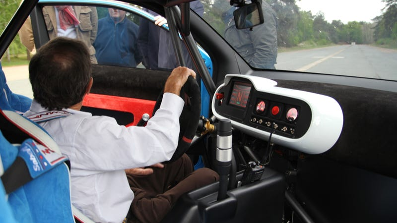 Go For A Spin In The Renault Twin'Run With Rally Legend Jean Ragnotti