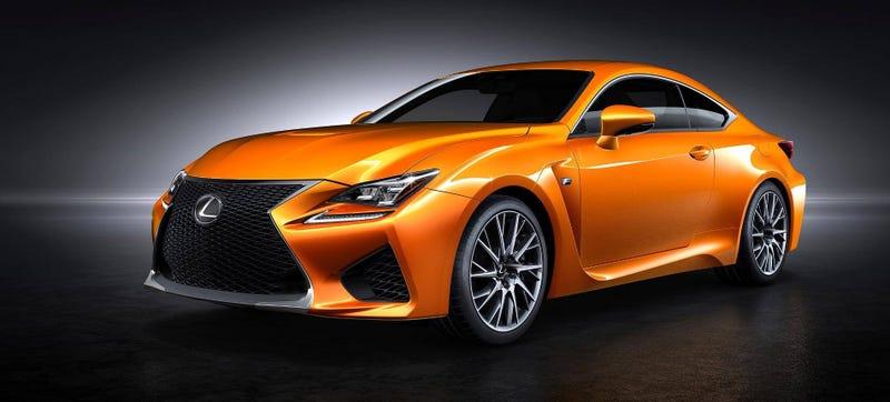 I Have A Genius Idea For Lexus' New Shade Of Orange