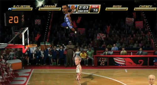 Watch Obama Bring The Rain In NBA Jam