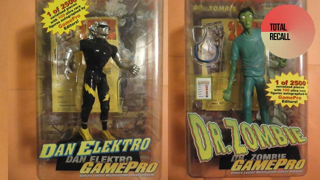 The Only Video Game Journalists to Get Action Figures