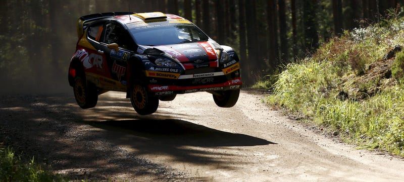 The Flying Cars Of Rally Finland
