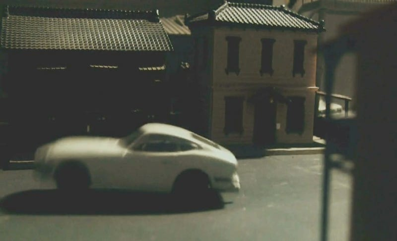 Jaw-Dropping Stop Motion Vintage Japanese Toy Car Chase