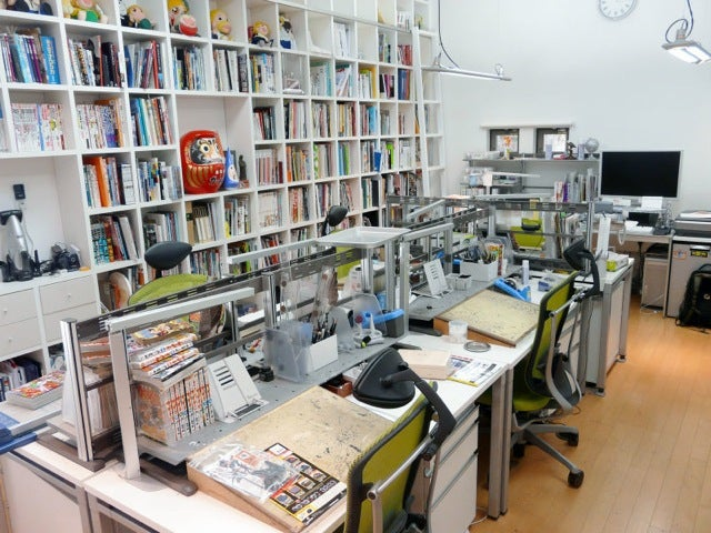 Famous Japanese Manga Were Born on These Desks