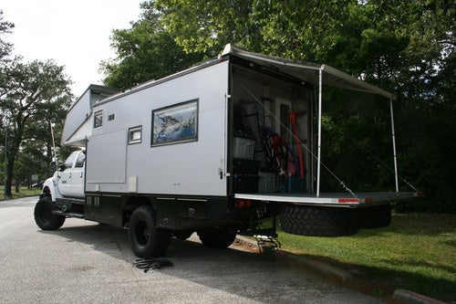EcoRoamer Expedition Vehicle: Life Systems Photos