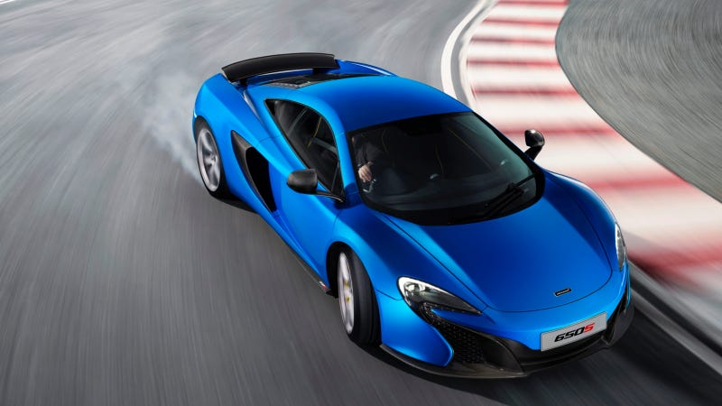 The McLaren 650S Goes From 0-124 MPH In 8.4 Seconds