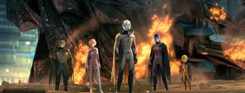 Watch the teaser trailer for the CG-animated Gatchaman film