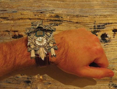 Thomas Cruyl's Wristwatch Is Cuckoo