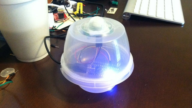 DIY Burglar Alarm Sends You a Text Message Whenever It Detects Motion