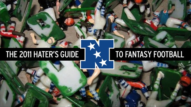 The 2011 Hater's Guide To Fantasy Football (NFC)
