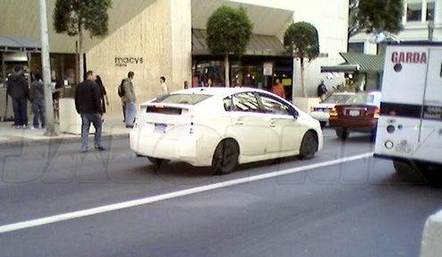 2011 Toyota Prius Stalking San Francisco Streets