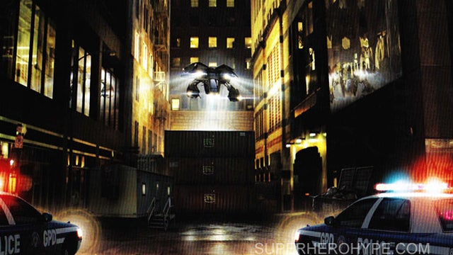 'This isn't a car': Brand New Dark Knight Rises Concept Art!