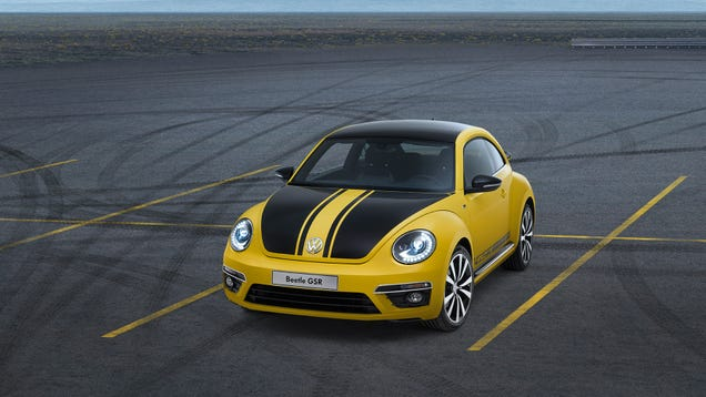 2014 Volkswagen Beetle Gsr And R Line Angry Bugs With
