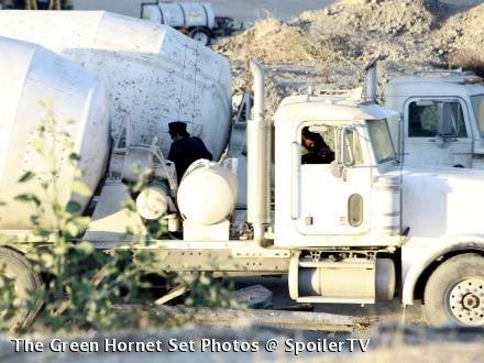 Green Hornet's on the Phone