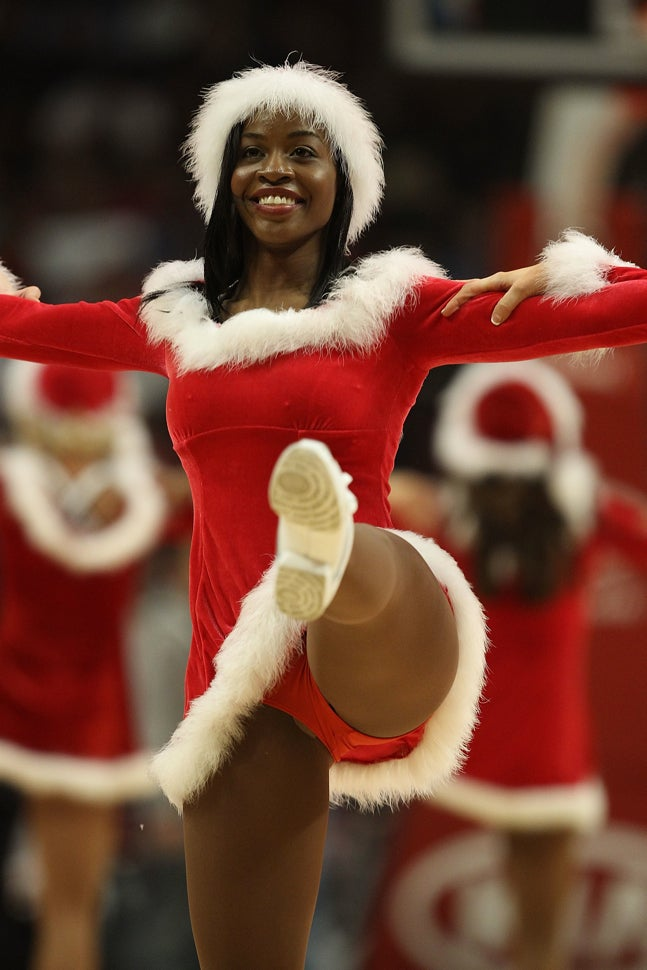 Santa's Elf Is Kickin' It
