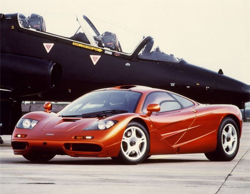 1997 McLaren F1 Auctions for $4 Million