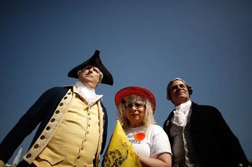 Tea Partiers Bent On Ruining Americans' Family Vacations