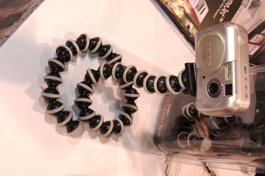 PMA 07: Joby Gives GorillaPod a Dose of Growth Hormone