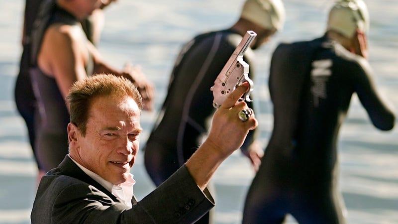 Whoa, Check Out the Murderous Glint in Arnold Schwarzenegger's Eyes