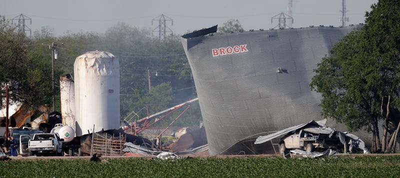 Fertilizer Plant Had 1,350 Times The Amount of Explosives It Should Have
