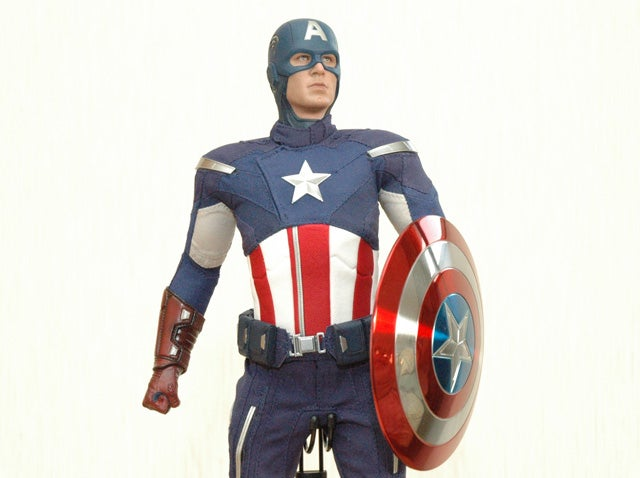 I Can't Stop Gushing Over The Newest Captain America Figure
