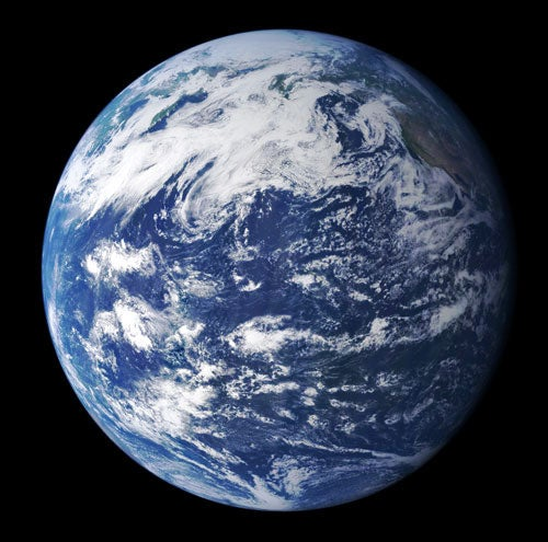 New Earth View Is the True Blue Marble