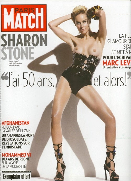 With This One Topless Picture We Forgive Sharon Stone for Basic Instinct 2