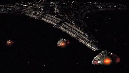 Prepare To Be Boarded! First Look At Stargate's New Alien Spaceships