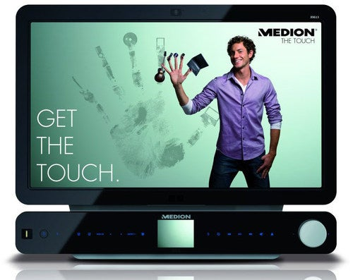 Medion X9613: A Multitouch PC that Longs to Be Your Home Theater