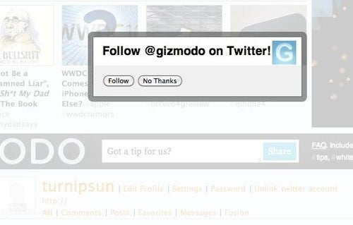 You Can Now Link Your Gizmodo And Twitter Accounts
